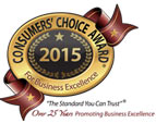 Consumer's Choice Award - Best Local Landscaper 2015